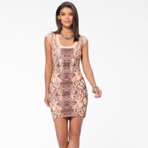 Cashè pink snake dress